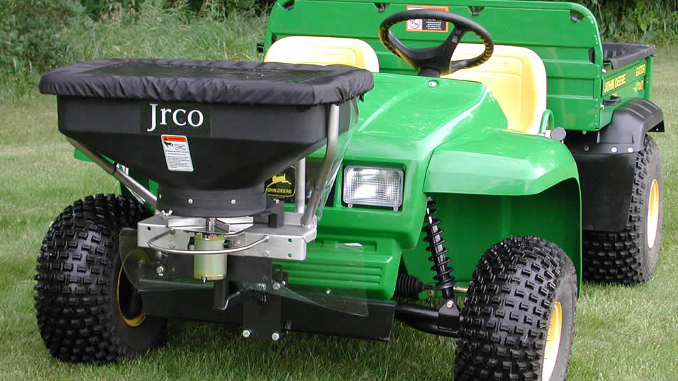 Jrco Inc Broadcast Spreader For Utility Vehicles
