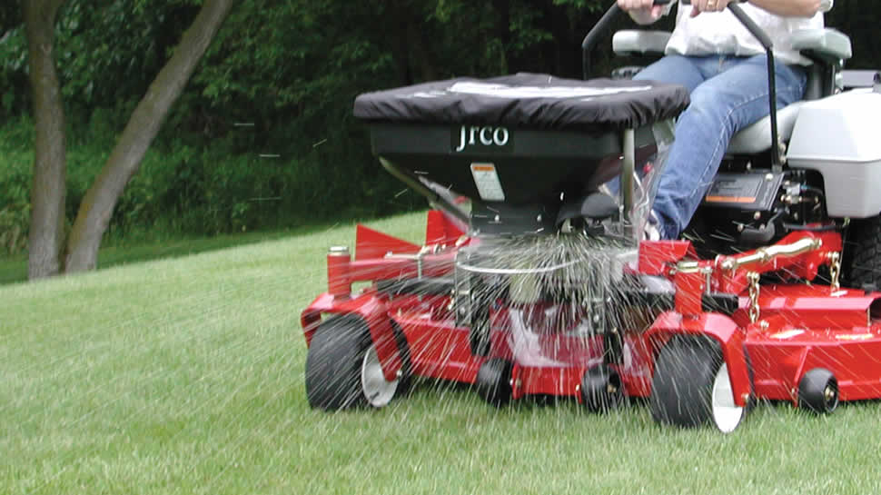 Jrco Inc Broadcast Spreader For Zero Turns