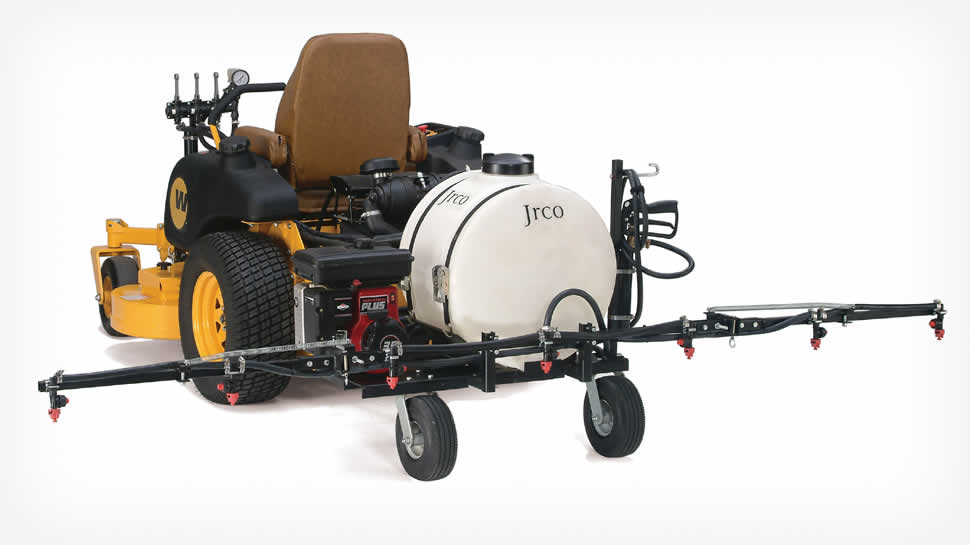 Model 800 Zero-turn Sprayer.