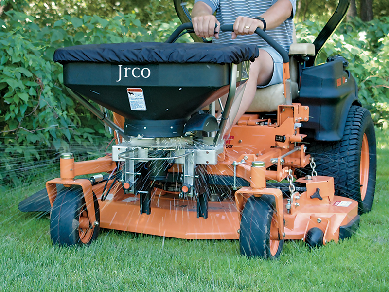 Broadcast Spreader for Zero-Turns - 503 | JRCO Inc