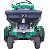 Jrco broadcast spreader mounted to a zero turn mower