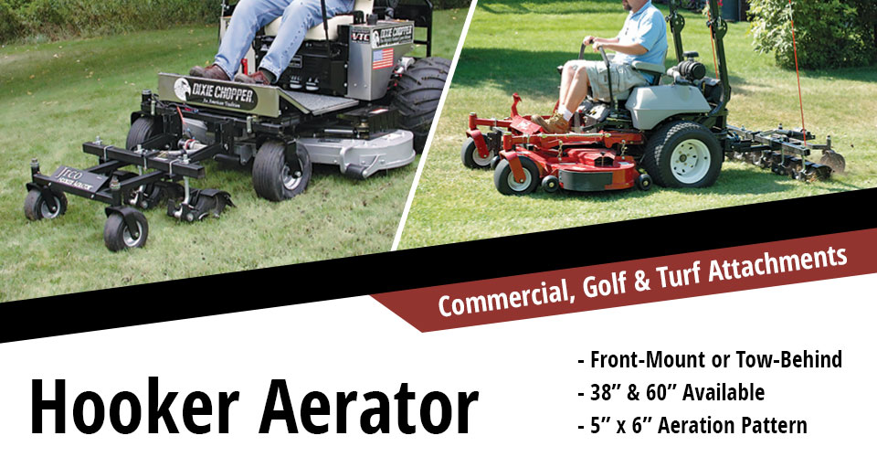 Heavy-duty Attachments for Commercial Mowers | JRCO Inc