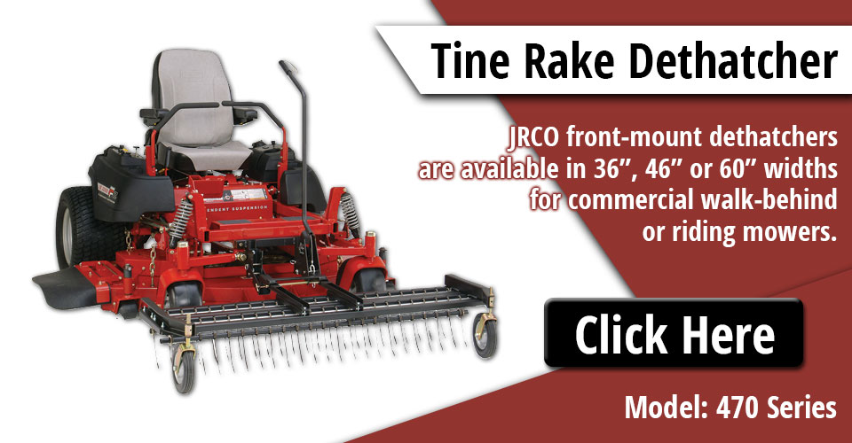 Stand Behind Lawn Mower >> Heavy-duty Attachments for Commercial Mowers | JRCO Inc